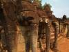 Bayon Elephant terrace, Camboja