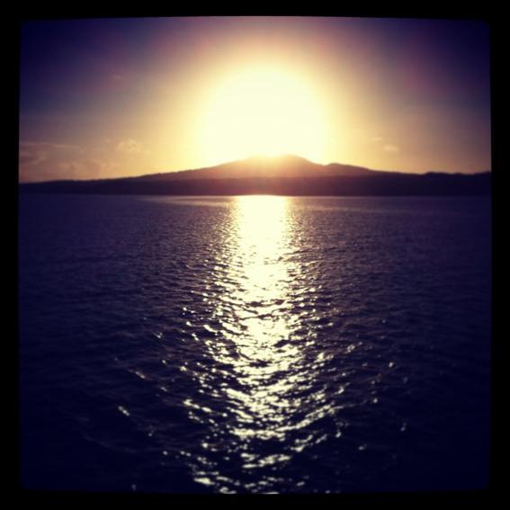 Ilha vulcânica de Rangitoto 2