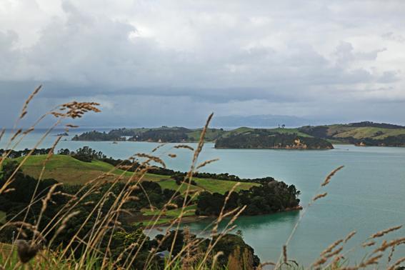 Vista da Ilha Waiheke